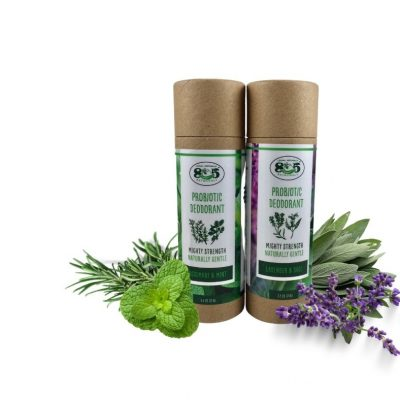 Natural Deodorant, Two Wonderful Scents